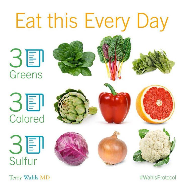 wahls diet food amounts